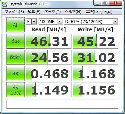 HDD速度