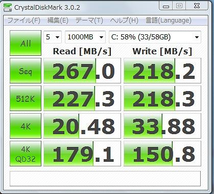 SSD(換装しただけ)